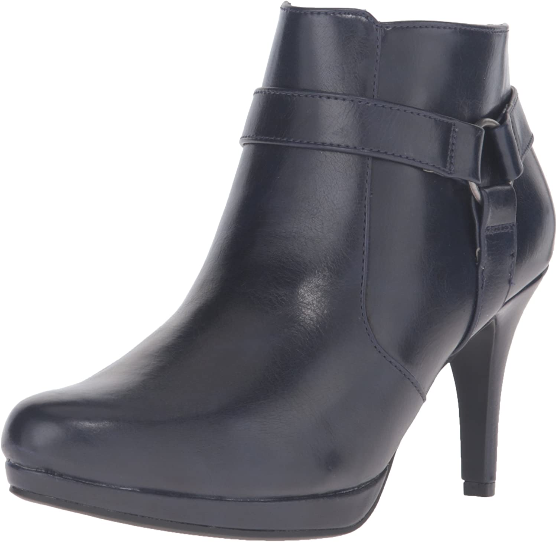 LifeStride Women's Xtina Ankle Bootie Black
