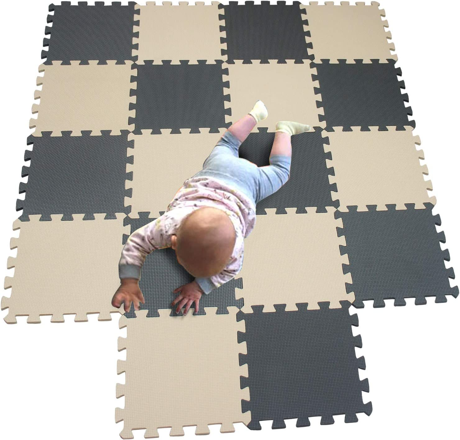 MQIAOHAM Children NEW Puzzle mat Squares Play Bab Max 76% OFF Tiles
