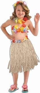 Forum Novelties Child Size Hawaiian Hula Dancer Costume Set, 3-Piece