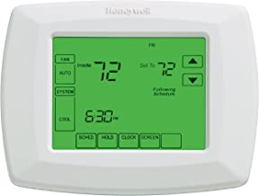 "Honeywell RTH8500D 7-Day Touchscreen Programmable Thermostat, ""C"" Wire Required, White, 1Package (Thermostat) (RTH8500D101..."