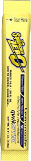 Sqwincher 060103-LA Zero Qwik Stik Powder, 20 oz, Yellow, Standard (Pack of 50)