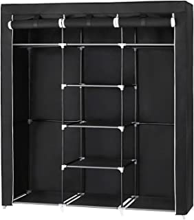 SONGMICS Armario Closet Organizador Textil Plegable Color