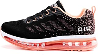 Unisex Scarpe da Ginnastica Basse Sneakers Sportive Running Fitness Gym Shoes
