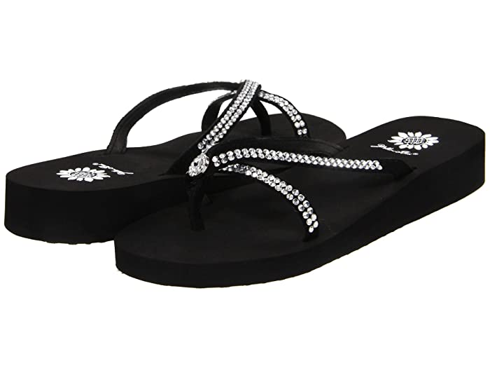 Yellow Box  Stormy (Black) Womens Sandals