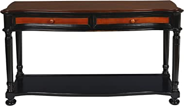 New Classic Furniture New Classic Jamaica Sofa Table, Cherry/Tobacco
