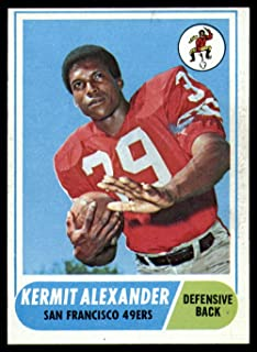 Football NFL 1968 Topps #191 Kermit Alexander Ex-Mint 49ers