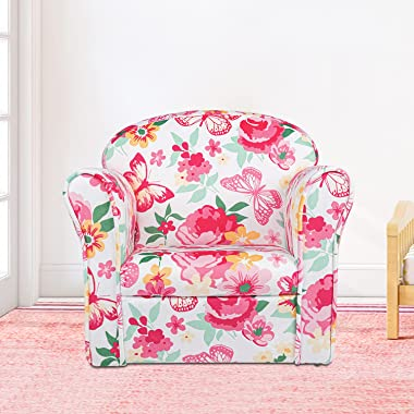 Kinbor Kids Sofa Toddler Chair Children Armchair Child Couch Furniture for Toddler Boys Girls for Play Living Room Bedroom