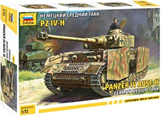 Zvezda Model 5017 German Medium Tank Panzer IV AUSF.H