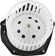 BOXI Heater Blower Motor w/Fan Cage for 1999-2000 Cadillac Escalade/ 1997-99 Chevy C1500 C2500 K1500 K2500 Truck/ 97-00 GM...