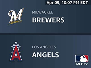 Milwaukee Brewers at Los Angeles Angels