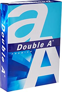 Double A - Printer Copy Paper, Size A4, GSM 80, 500 Pages Ream