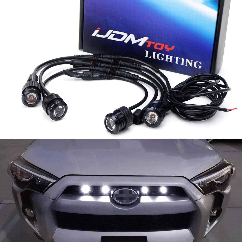 iJDMTOY 4pc Raptor Style 3W High Power LED Grille Lighting Kit C