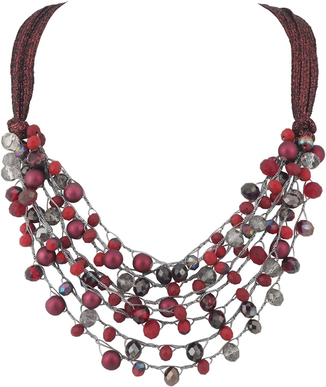 free BOCAR Multi-Row Statement Some reservation Collar for Necklace Wo Beaded