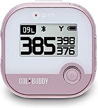 GolfBuddy Aim V10 Talking Golf GPS Rose Gold