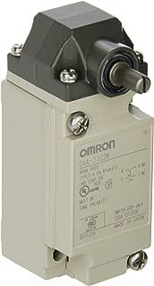 Omron D4A-1102-N General Purpose Limit Switch, Roller Lever, High Sensitivity, 1/2-14 NPT Conduit Size, Single Pole Double Throw, Double Break