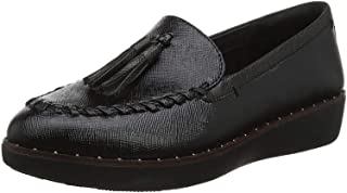 Fitflop Petrina Patent Loafers, Mocassins Femme
