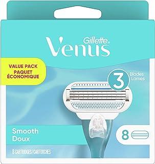 Gillette Venus Original Women's Razor Refills, 8 Count,white