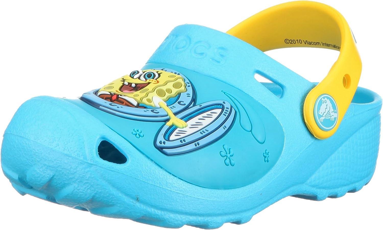 Crocs Boys' SpongeBob Ahoy Custom Clog