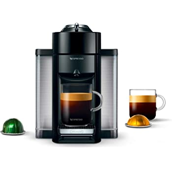 Nespresso Vertuo Coffee and Espresso Machine by De'Longhi, Black