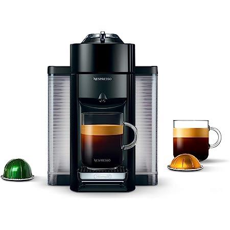 Nespresso Vertuo Coffee and Espresso Maker by De'Longhi, Piano Black