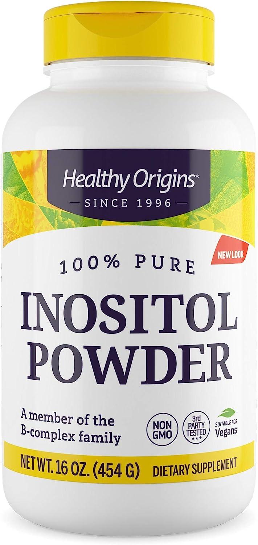 Opening large release sale Healthy Origins Inositol Alternative dealer Powder Ounce 16