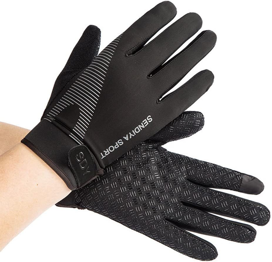 YHT Workout Gloves, Full Palm Protection & Extra Grip, Gym Fishing Fencing Gloves for Weight Lifting, Training, Fitness, Exercise (Men & Women)