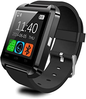 Fanmis Bluetooth Smart Watch Wrist Wrap Watch Phone for iOS Apple iPhone 4/4s/5/5c/5s..
