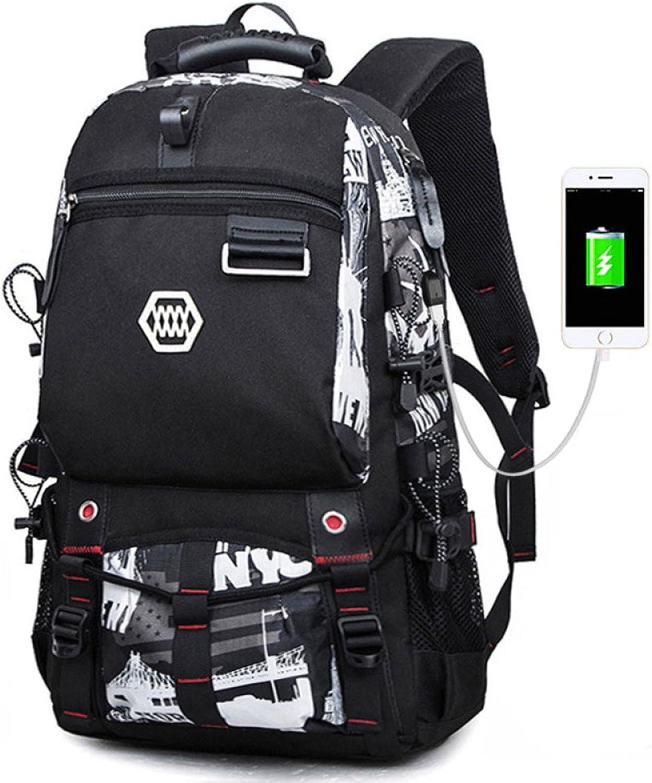 WSQ Rucksack Mnner Tourismus Outdoor-Freizeit-Tasche Mode-Trend groe Kapazitt leichte Reisetasche Bergsteigen Rucksack Mnner