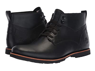 Timberland Kendrick Waterproof Chukka (Black Full Grain) Men
