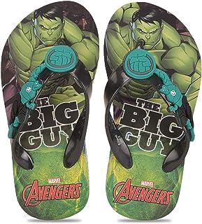 Avengers by toothless Boy's Kids Flip-Flop Slipper