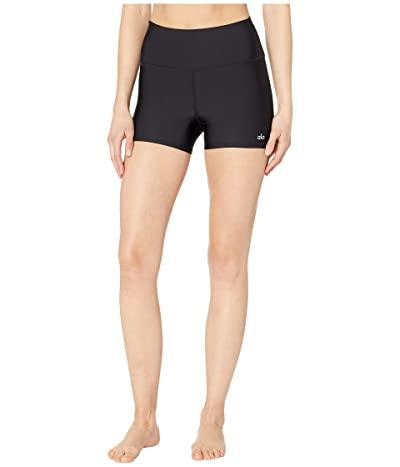 ALO High-Waisted Airlift Shorts (Black) Women