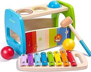 rolimate Giocattoli martellanti martellanti, Giocattoli Colorati xilofono, Giocattoli educativi per l'educazione precoce M...