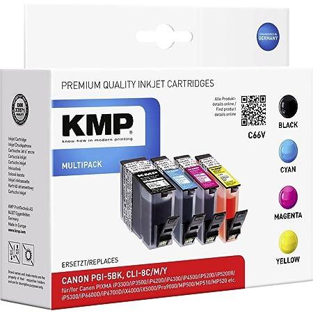 Kmp Multipack Für Canon Pixma Ip4200 Ip5200 C66v Kmp Bürobedarf Schreibwaren