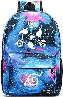 Siawasey Anime Naruto Cosplay Luminous Bookbag Backpack School Bag(16 Styles)