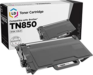 LD Compatible Toner Cartridge Replacement for Brother TN850 High Yield (Black)