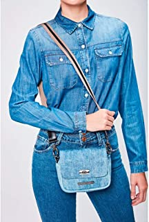 Bolsa Jeans Transversal Feminina