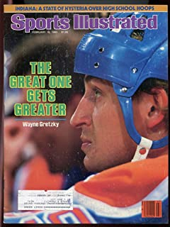 SI: Sports Illustrated February 18, 1985 Great One Gets Greaters Wayne Gretzky GOOD