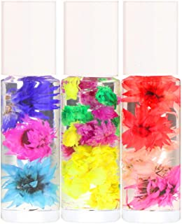 Blossom Roll-On Perfume Oil Set, 3 Pieces, 0.1 fl oz (3 ml) Each