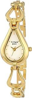 Raga Gold/Silver Metal Jewellery Design, Bracelet Clasp, Quartz Glass, Water Resistant, Analog Wrist Watch