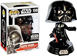 Darth Vader [Bespin] (Smuggler's Bounty Exc): Fun ko Pop! Vinyl Figure & 1 Compatible Graphic Protector Bundle (158 - 39388 - B)