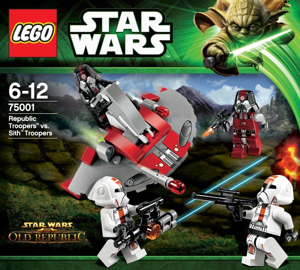 LEGO STAR WARS - Republic Troopers vs. Soldados Sith (75001 ...