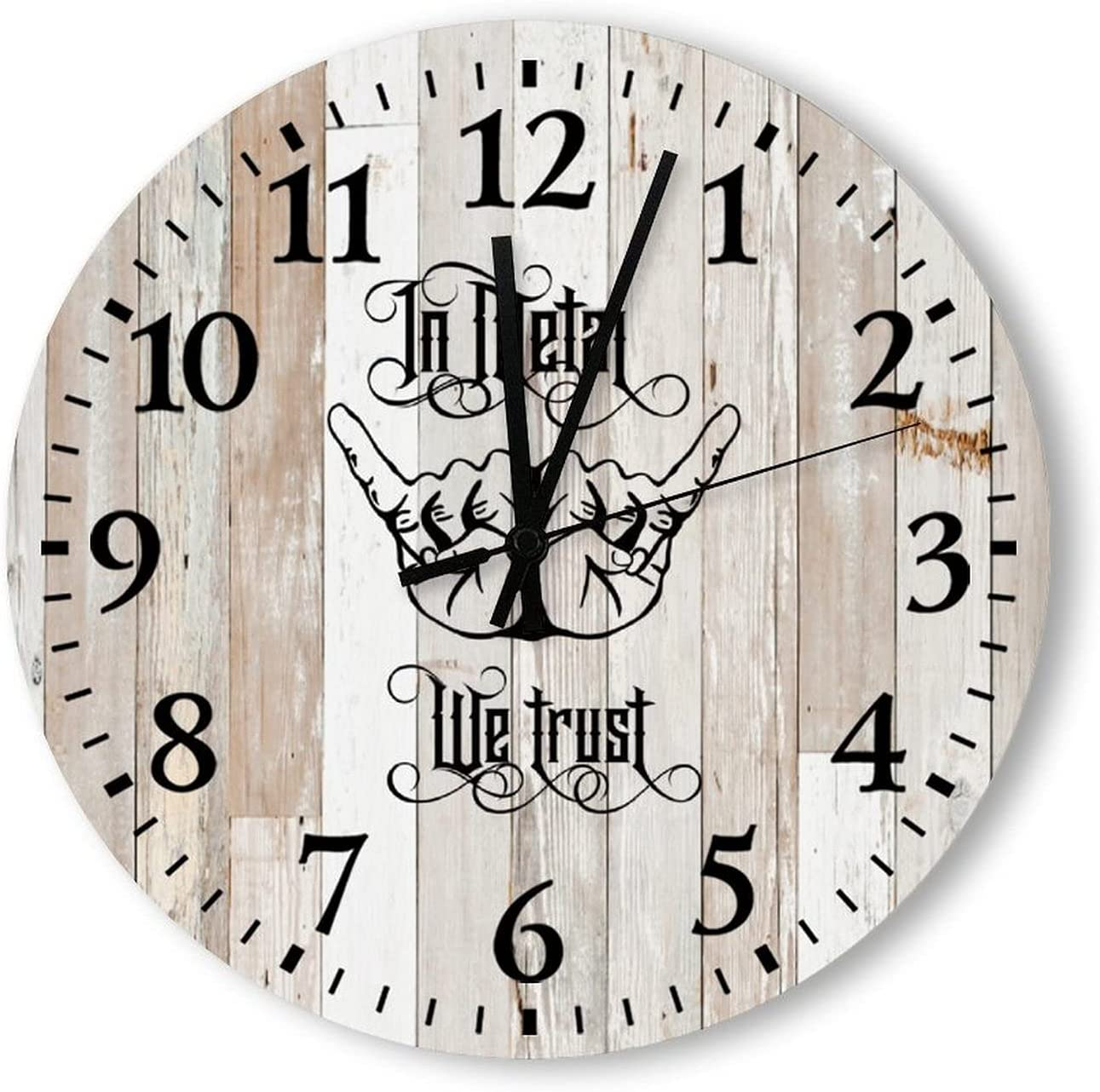 by Unbranded Decorative Wall Clock in G Metal for Ranking Recommended TOP5 Trust We
