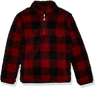 Girl's Quarter-Zip High-Pile Polar Fleece Jacket