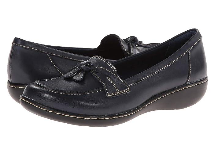 Clarks  Ashland Bubble (Navy) Womens Slip on  Shoes