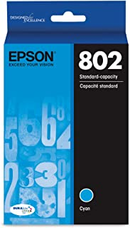 Epson T802220 DURABrite Ultra Cyan Standard Capacity Cartridge Ink