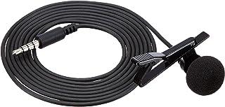 Amazon Basics Lapel Microphone  Omnidirectional Mic - Black, 2-Piece