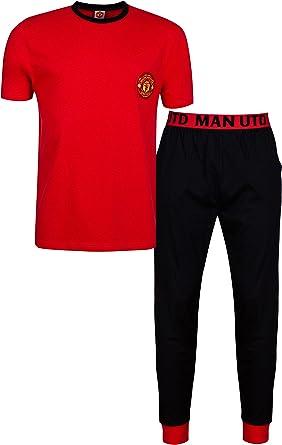 Manchester United Mens Manchester United Football Club Cotton Pyjamas