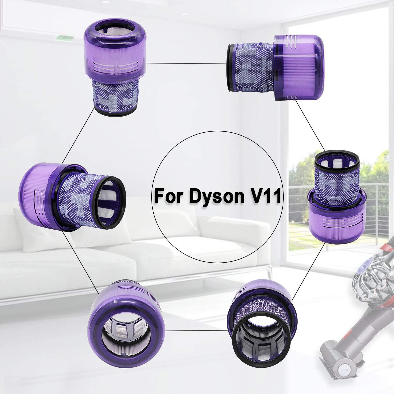ABC life Filtro Lavable para Aspiradora Dyson V11 SV14 Cyclone Animal Absolute Total Clean Reemplace # DY-970013-02 & 97001302: Amazon.es: Hogar