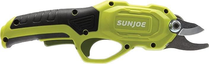 Sun Joe PJ3600C 3.6V 2000 mAh 0.6 Sec Rapid Cutting Cordless Rechargeable Power Pruner, Green