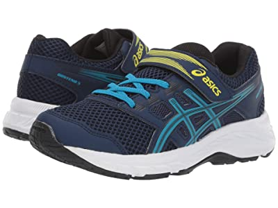 ASICS Kids Gel-Contend 5 (Toddler/Little Kid) (Blue Expanse/Island) Boys Shoes